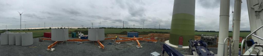 Baustellenüberblick
