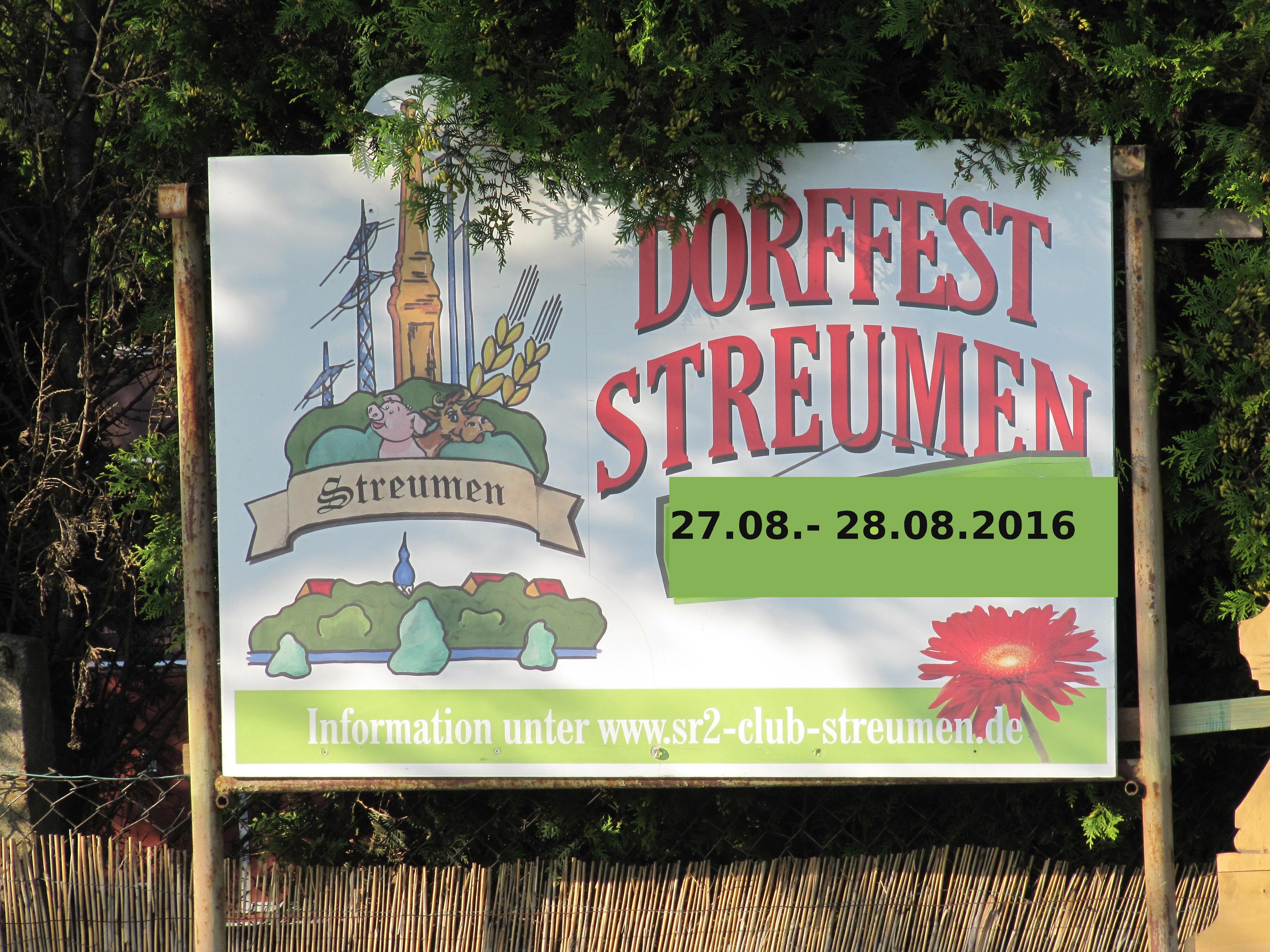 Dorffest Streumen